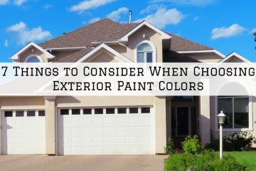 7 Things to Consider When Choosing Exterior Paint Colors in Conroe, Texas