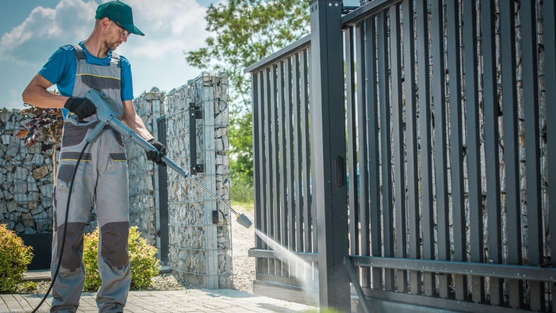 Pressure washing tips for your building's exterior