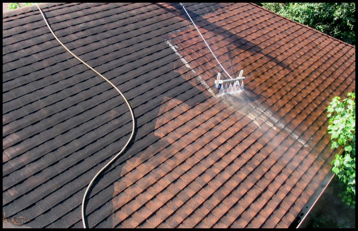 Roof cleaning is an essential exterior maintenance project for your building.
