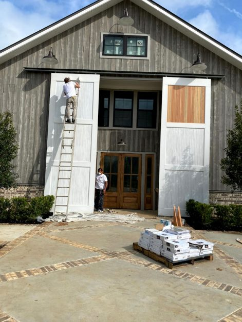 Touching up exterior paint is a great commercial maintenance project for your building.