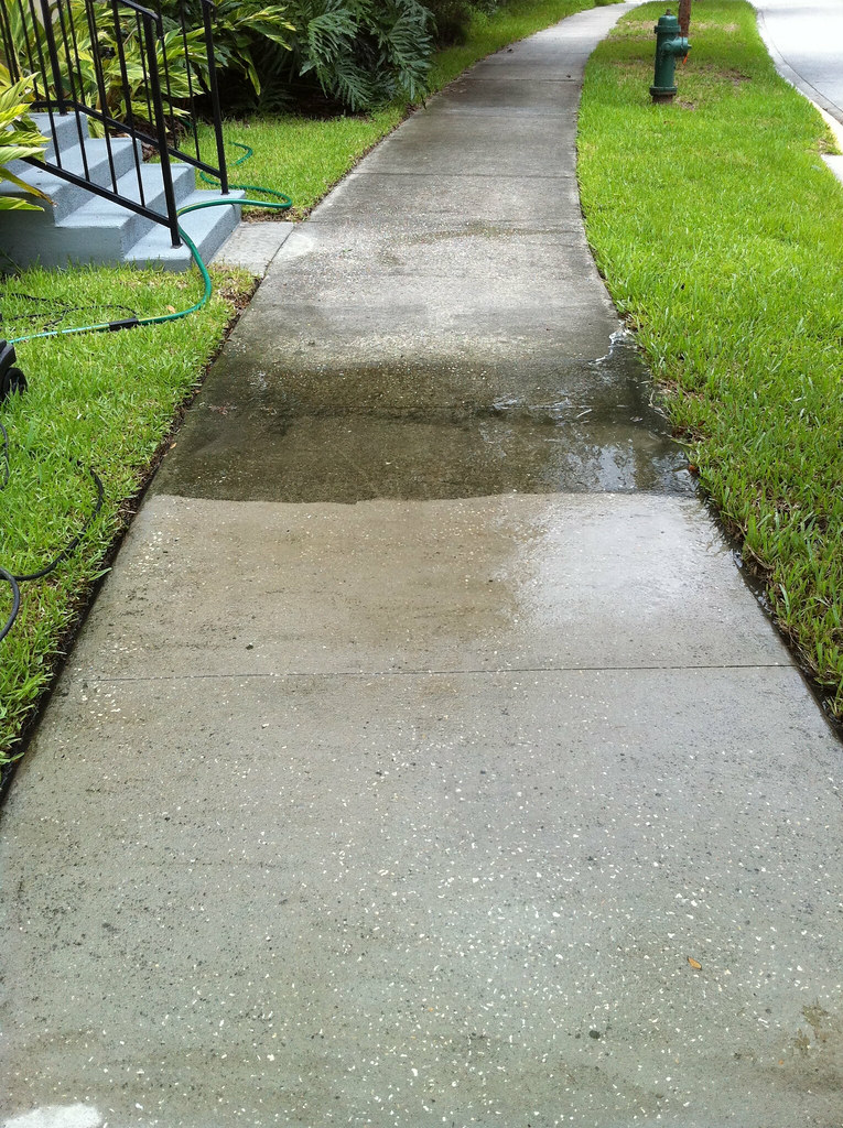 Cleaning your building's sidewalks, patios, and parking lots if a great way to keep up with your building's maintenance.