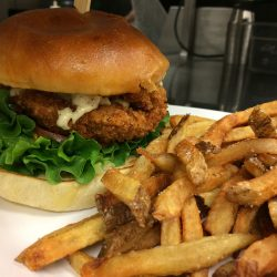 Image of Classic Studebaker Burger and Fries