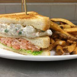 Image of Tuna Melt Sandwich and Fries