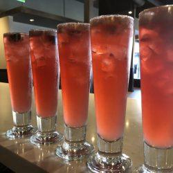 Image of Five Identical Studebaker Cocktails
