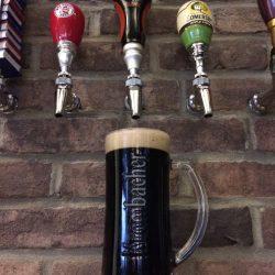 Image of Full Beer Mug and Tap Handles Studebaker Pub & Diner