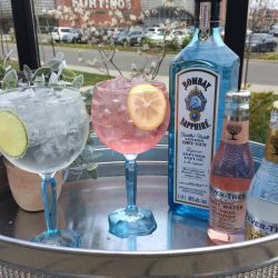 Image of Bombay Cocktails and Bottle Studebaker