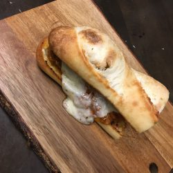 Image of Studebaker Bread on Wood Plate