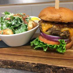 Image of Studebaker Burger and Caesar Salad