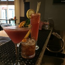 Image of Three Various Cocktails, Studebaker Style