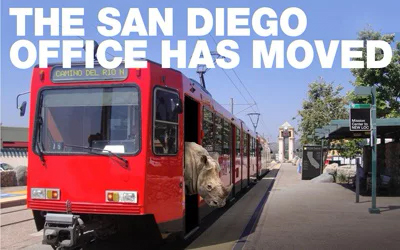 Our San Diego law firm as moved