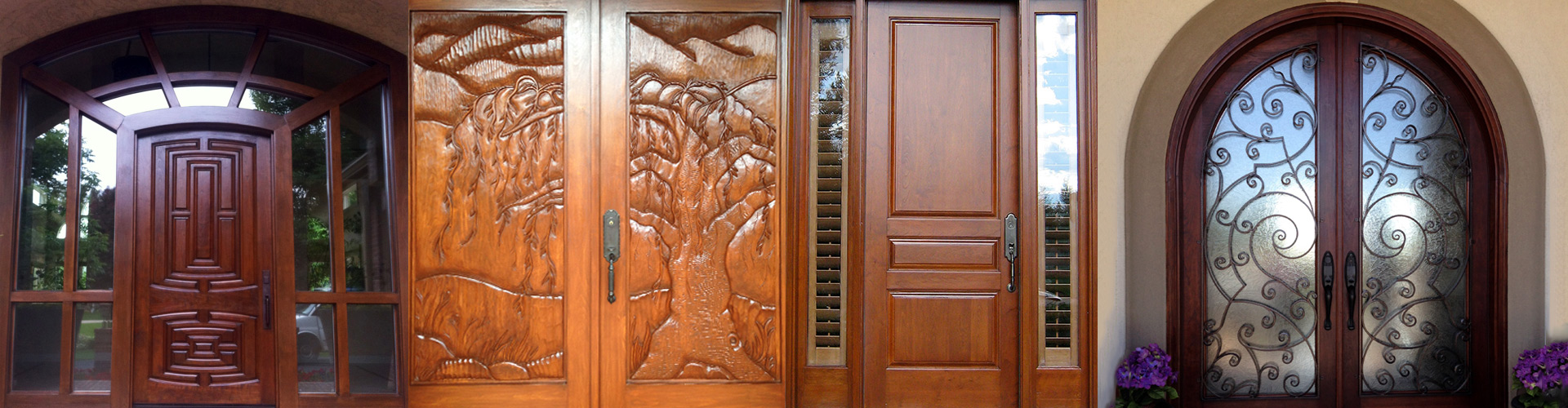 Wood Door Repair | Wood Door Refinishing | Wood Door Restoration   Summit Wood  Door Refinishing