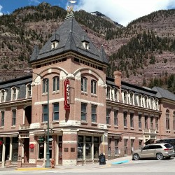 Window Tinting at Beaumont Hotel in Ouray, Co