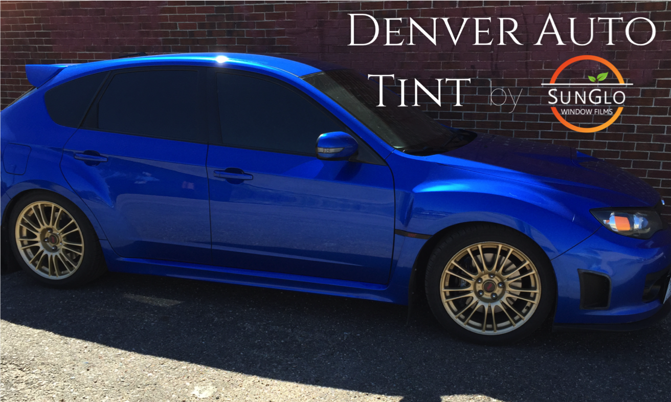 2008 STI Denver Window Tinting