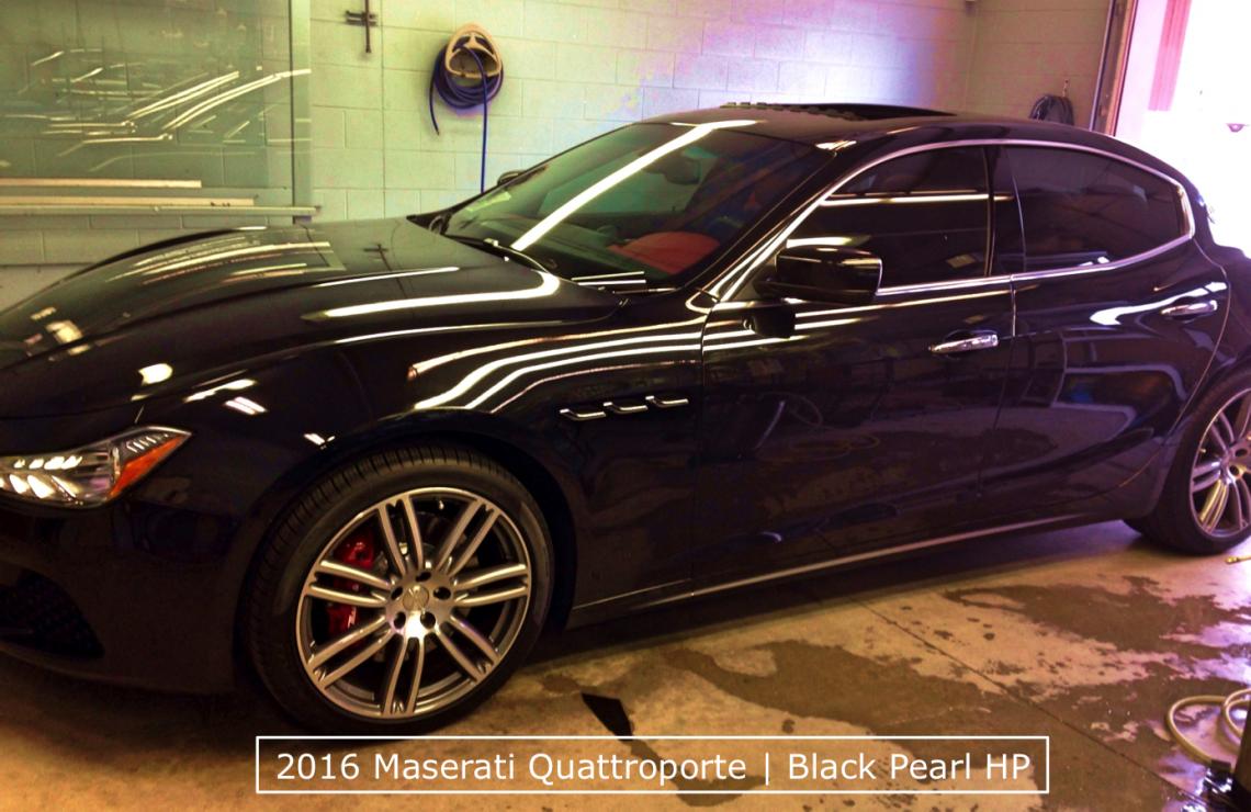 Maserati Window Tint Denver
