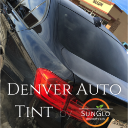 Black Pearl HP 15 on a BMW 335XI by Denver Auto Tint