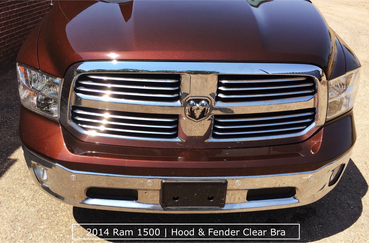 Ram Truck With Denver Clear Bra