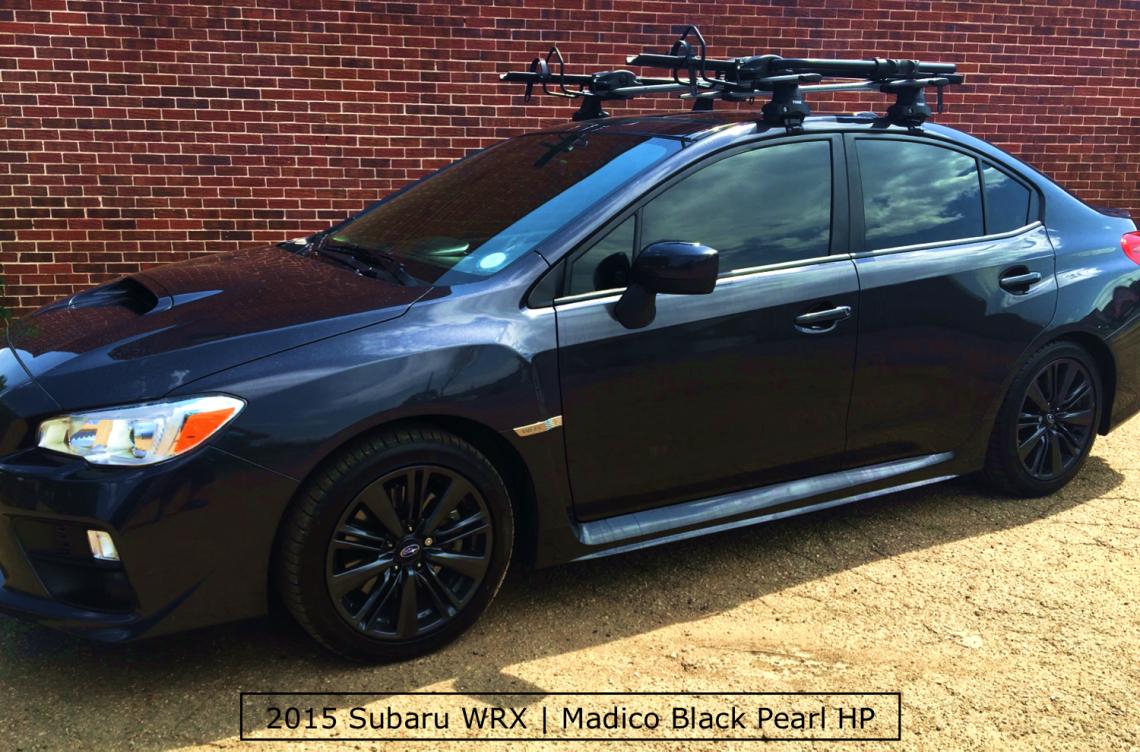 A Beautiful Subaru WRX with Window Tinting