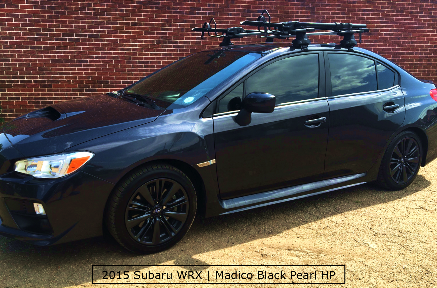 A Beautiful Subaru WRX with Window Tinting