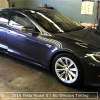 Tesla Before Window Tinting