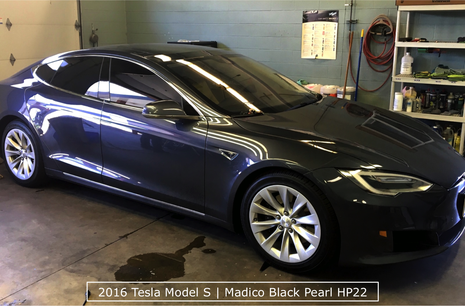 2016 Tesla Model S After Window Tinting