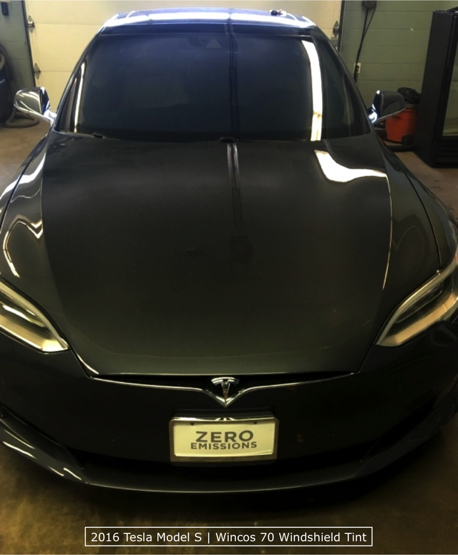 Windshield Window Tinting Tesla