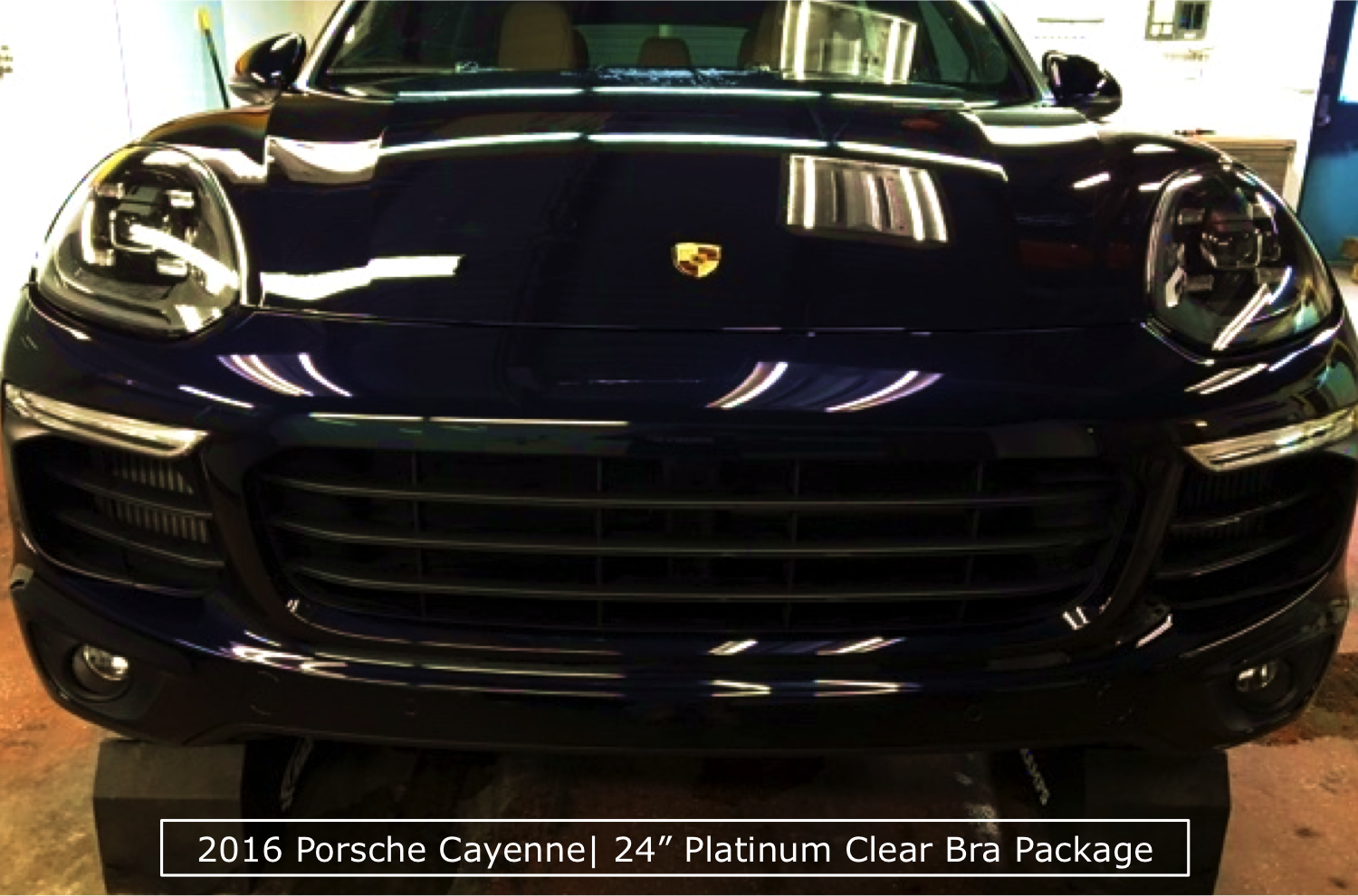 Platinum Clear Bra Package on a 2016 Porsche Cayenne