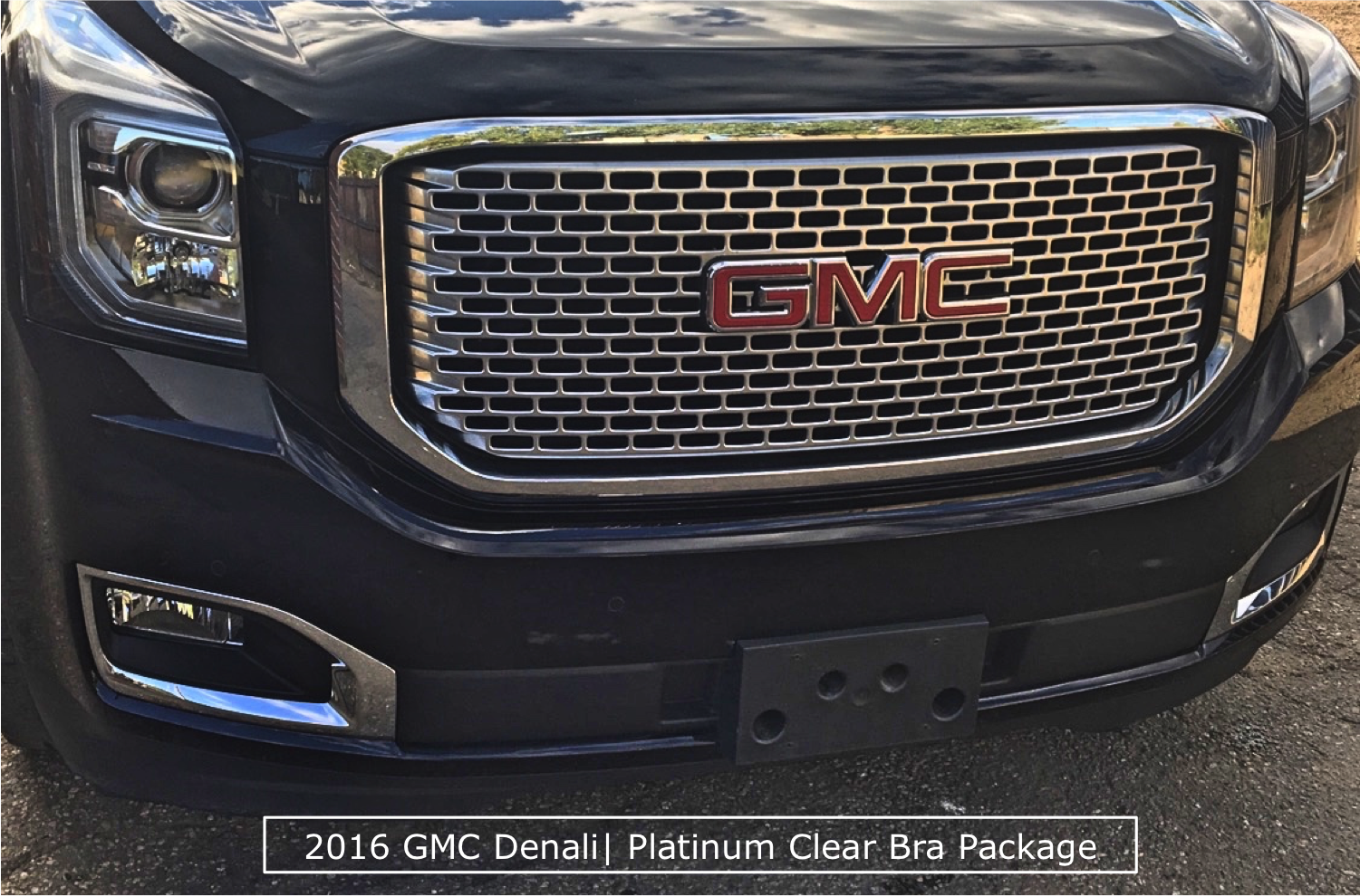 GMC Denali Clear Bra Denver Package