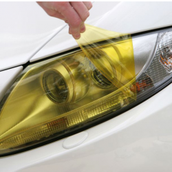 Yellow Headlight Tinting Denver