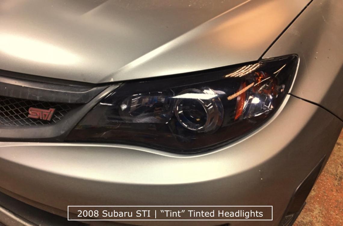 Subaru Tinted Headlights Denver