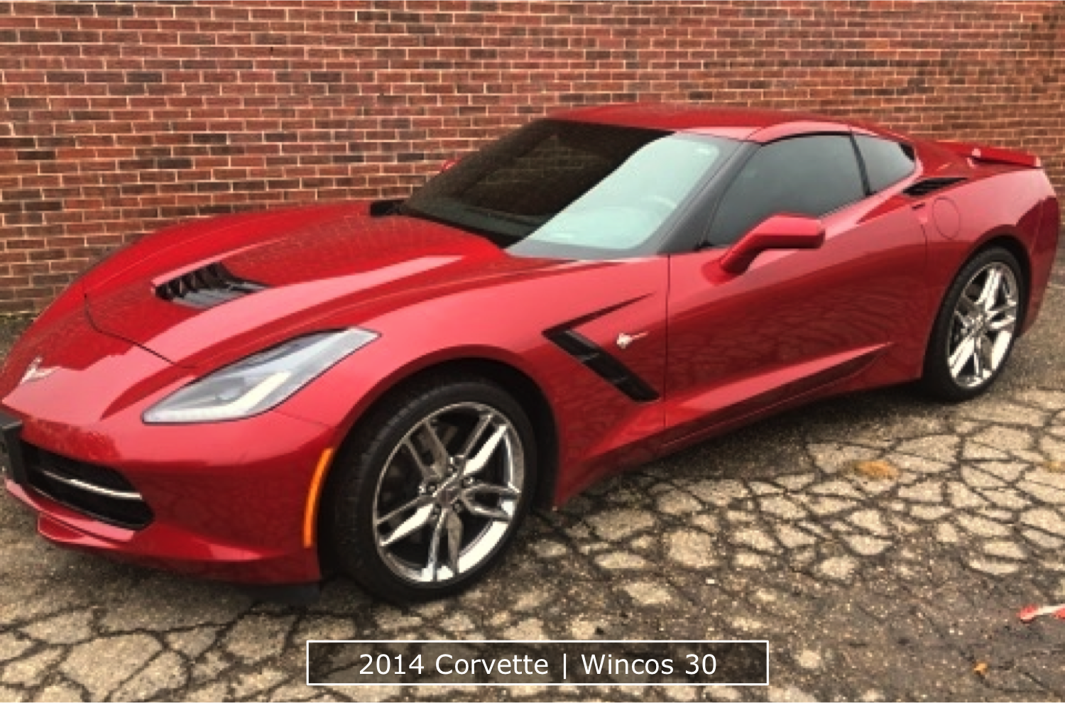 2014 Corvette Window Tinting Denver