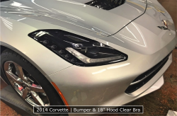 2014 Corvette With A Denver Clear Bra