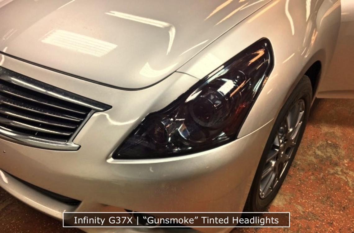 Infinity Headlight Tinting