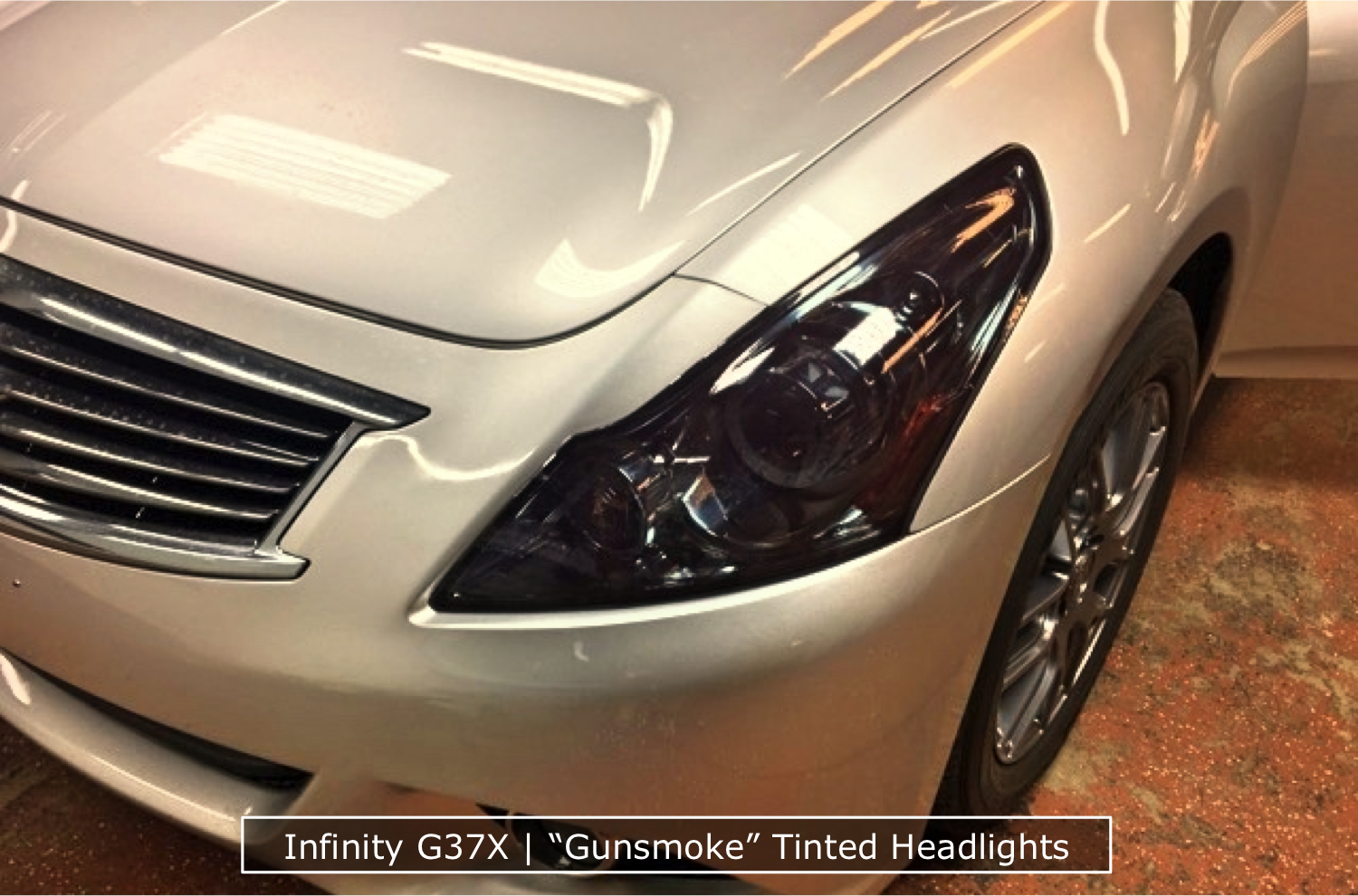 Infinity Headlight Tinting