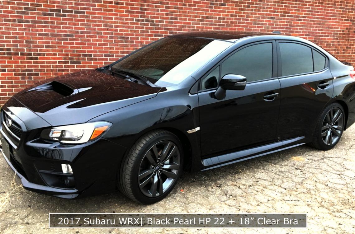 2017 Subaru With Denver Tinted Windows