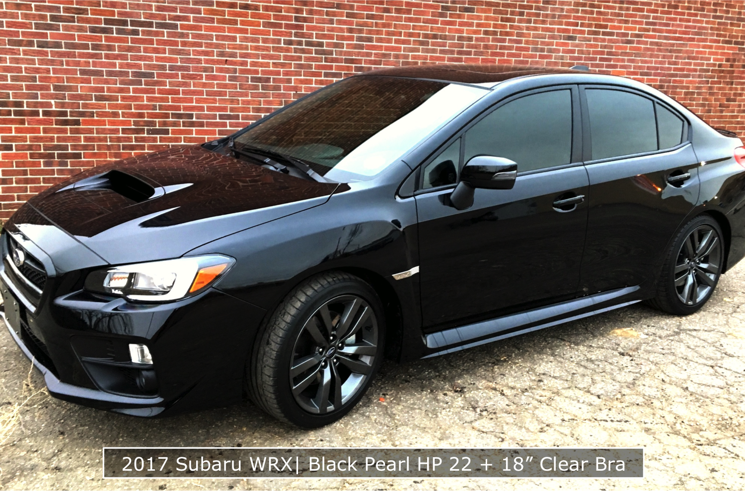 2017 Subaru With Denver Tinted Windows