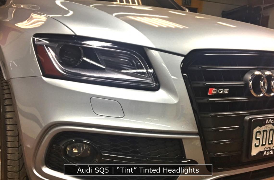 Audi Tinting Headlights