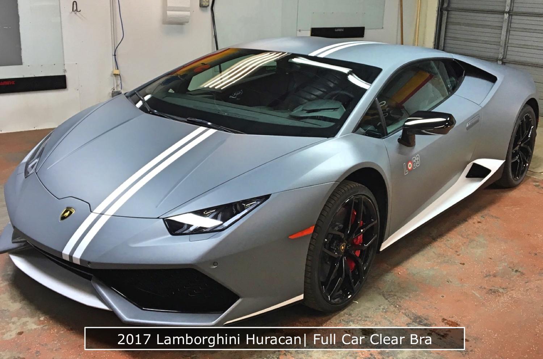 Lamborghini Huracan Clear Bra