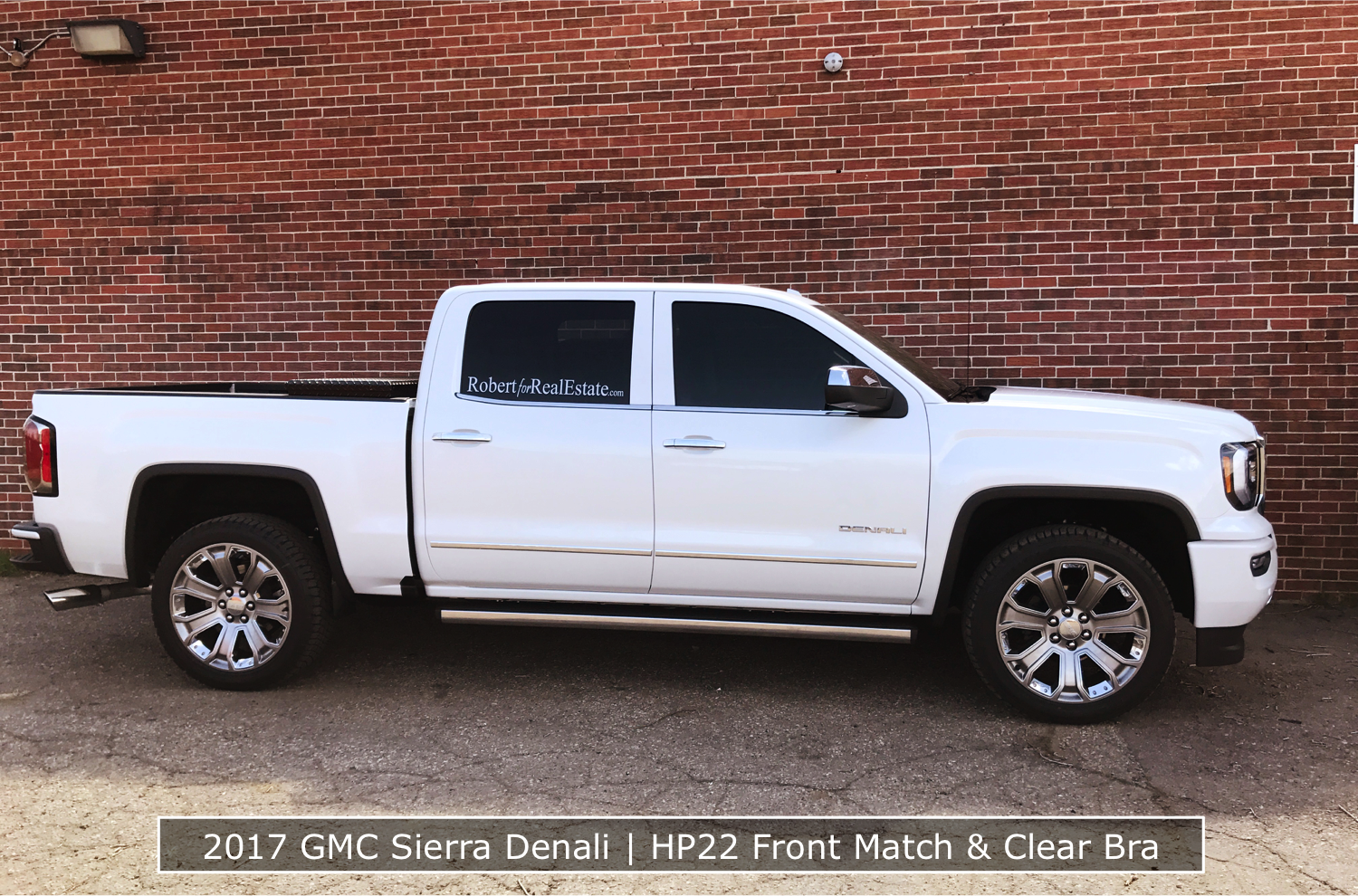 GMC Sierra Denali Clear Bra & Tint in Denver