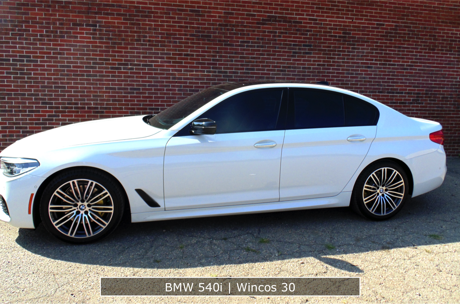 BMW Window Tinting 540i