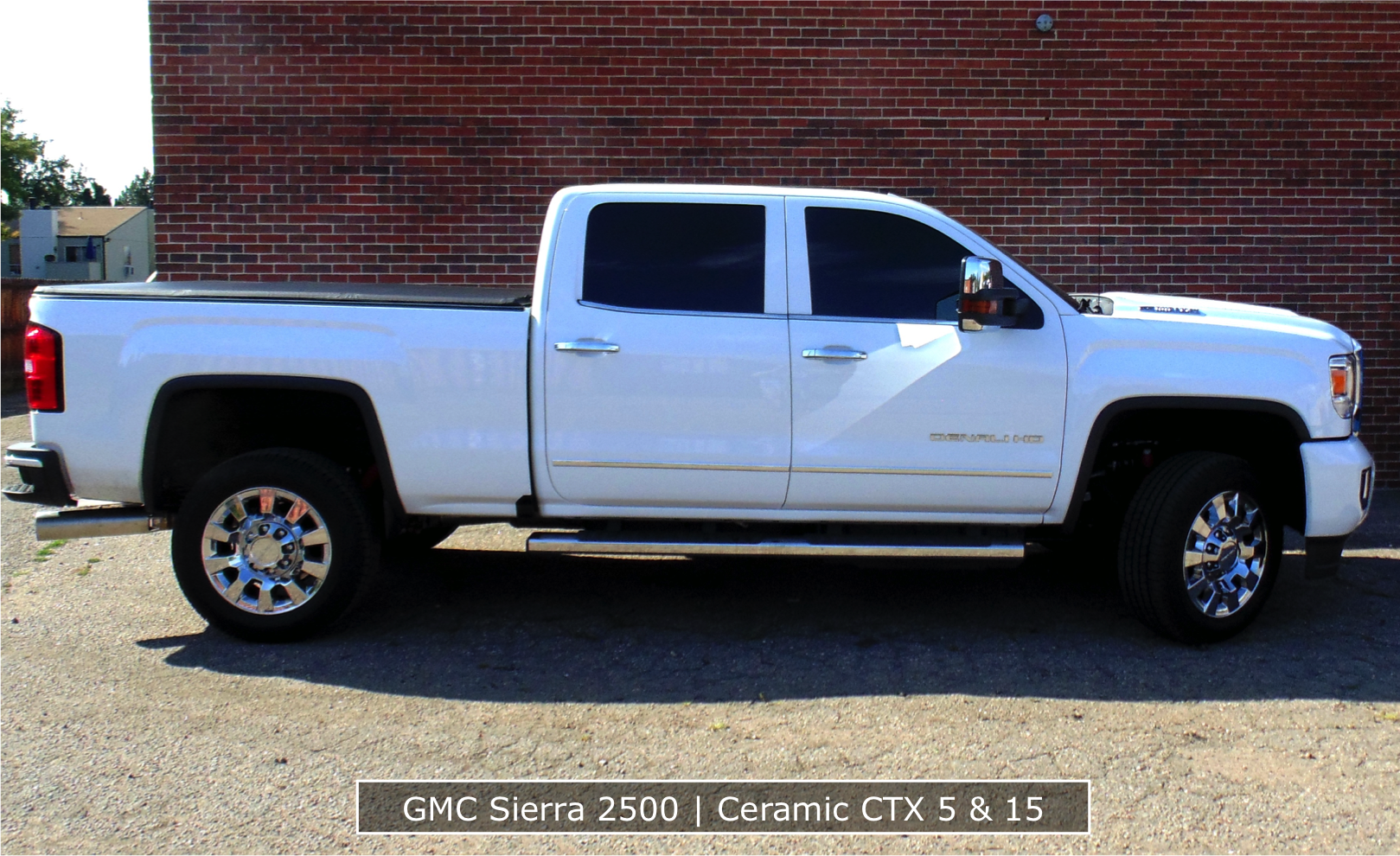 Ceramic Window Tint on GMC Truck