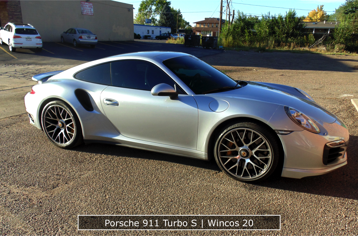 Porsche 911 Turbo Window Tinting