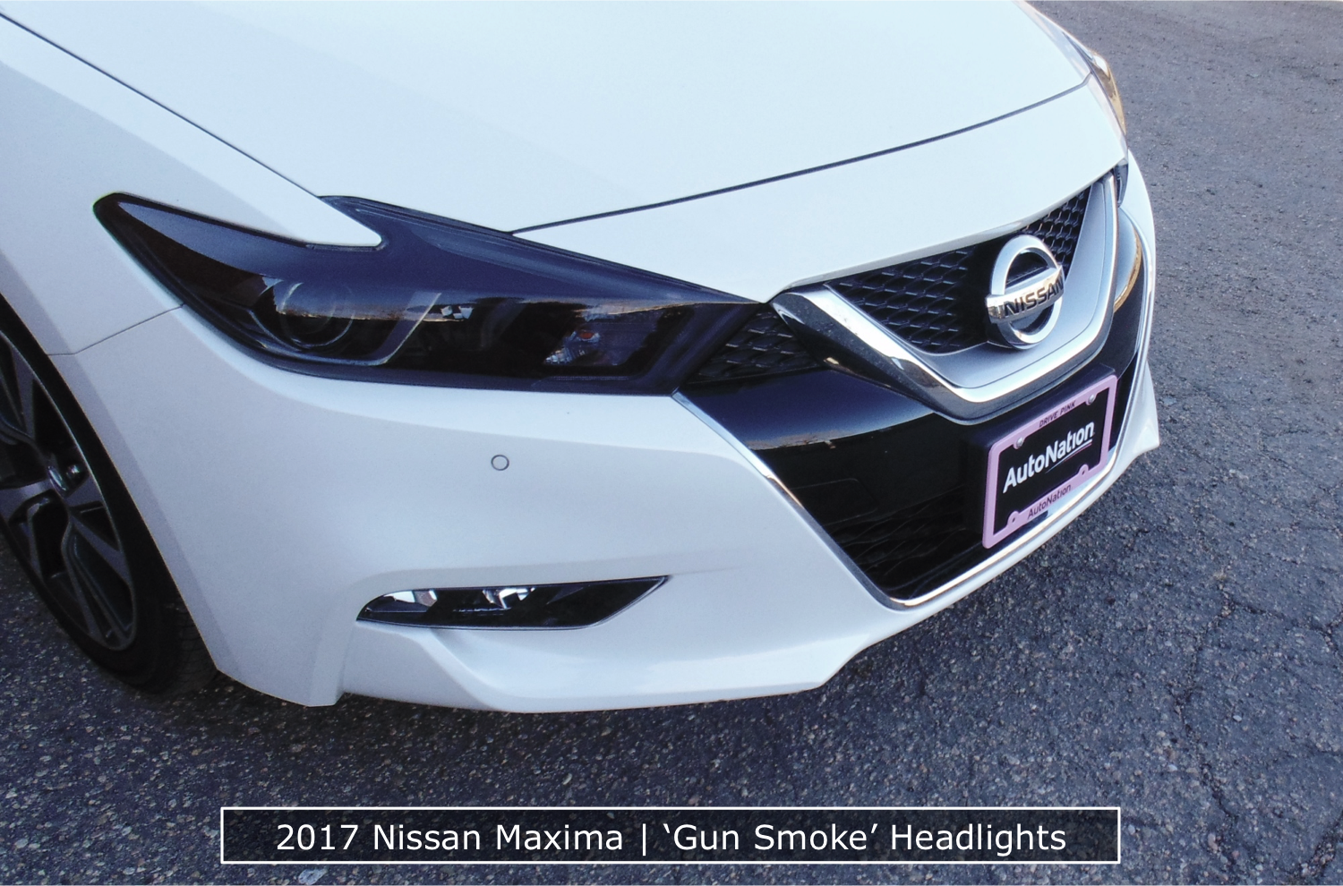 Nissan Maxima Tinted Headlights