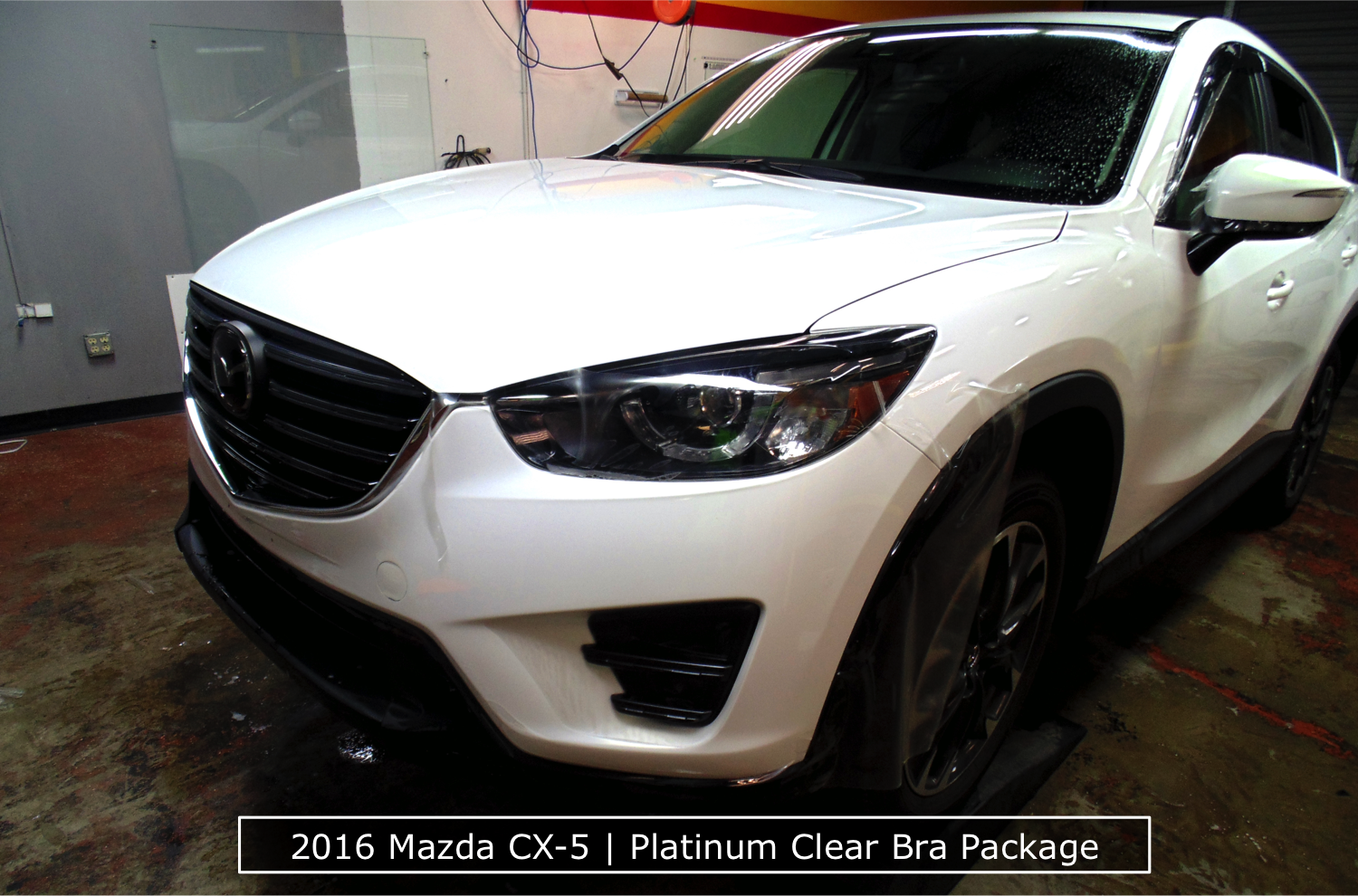Mazda Clear Bra Package