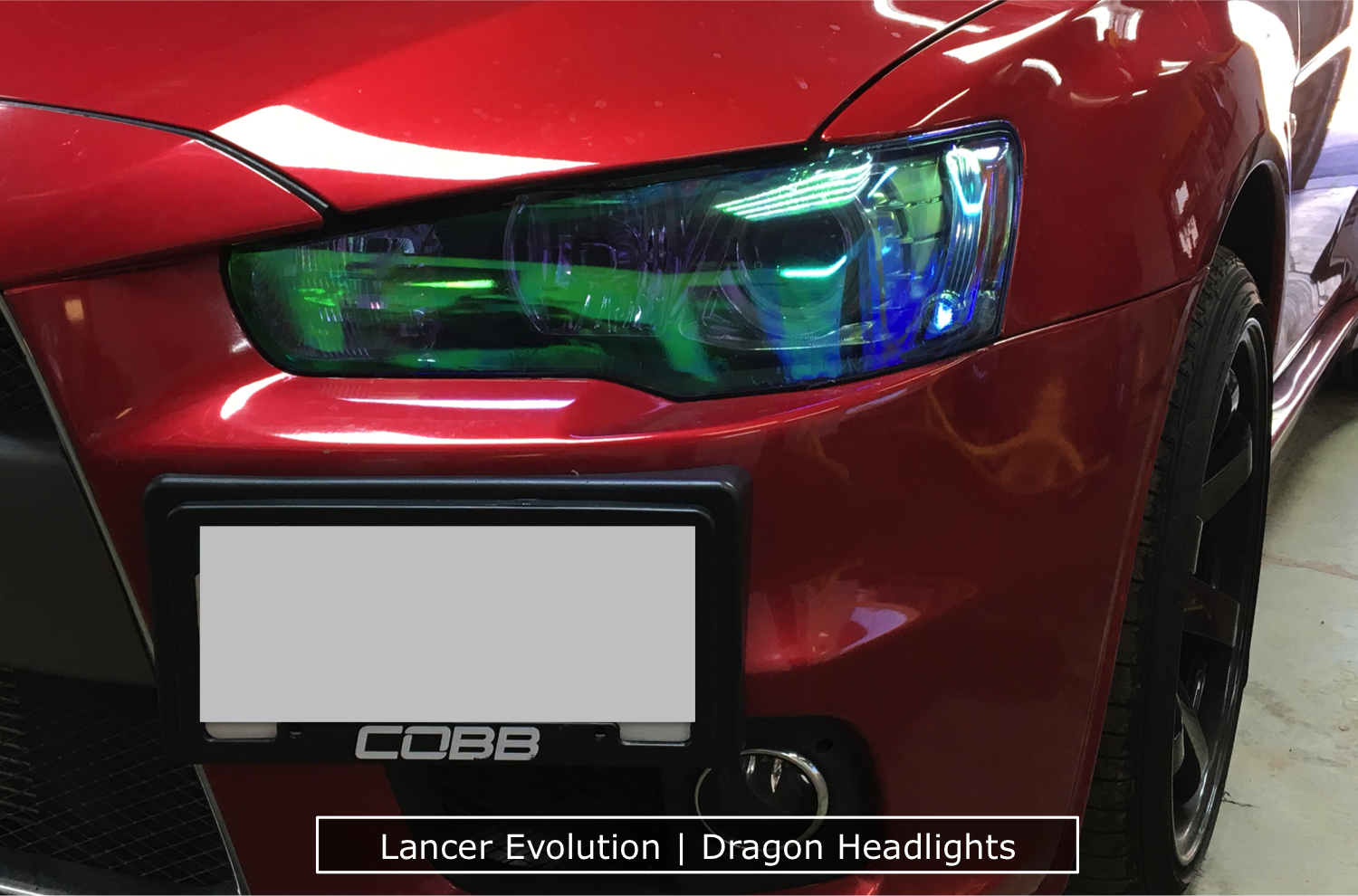 Dragon Laminates On A Lancer Evolution