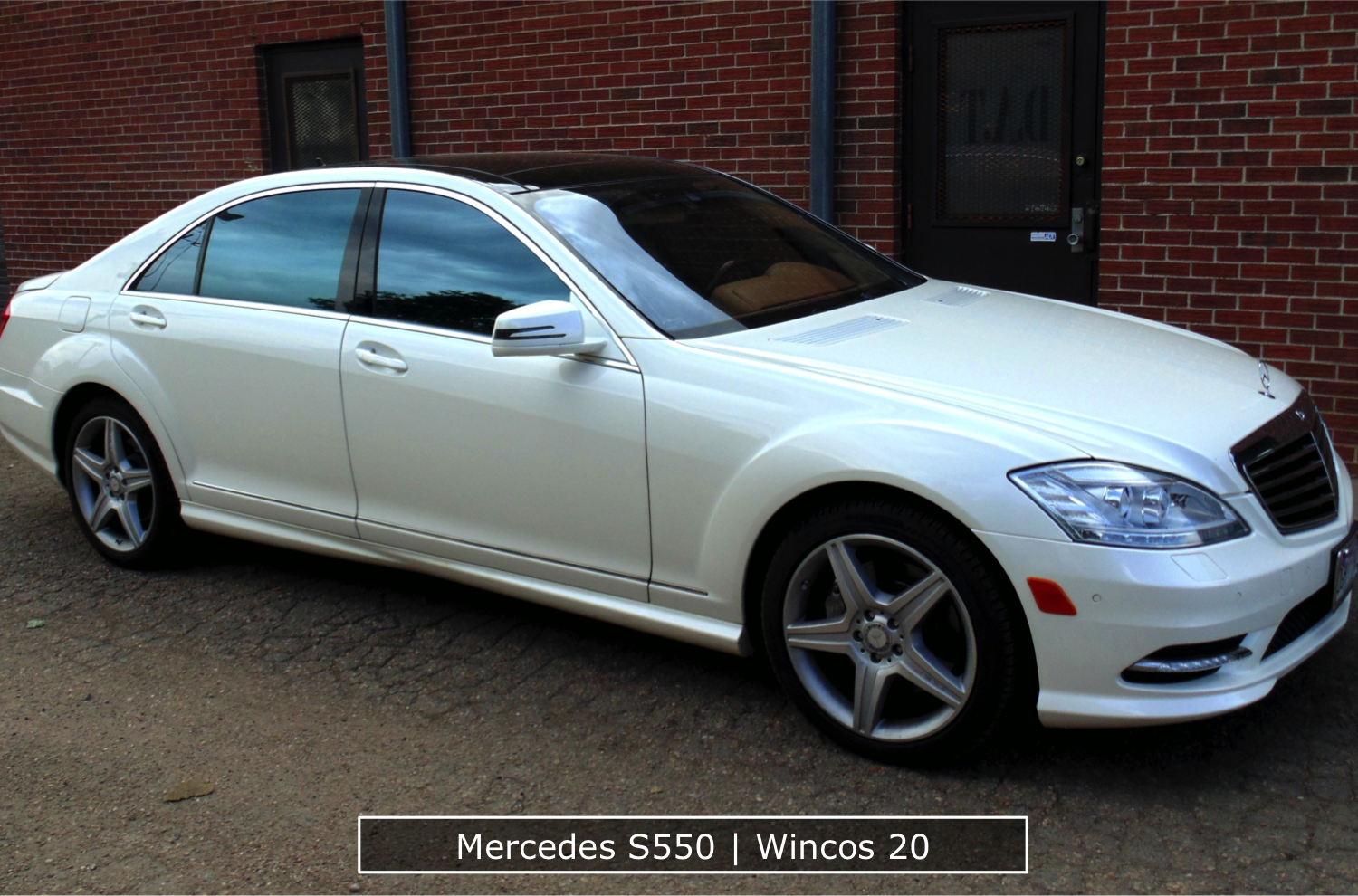 Mercedes With Wincos 20