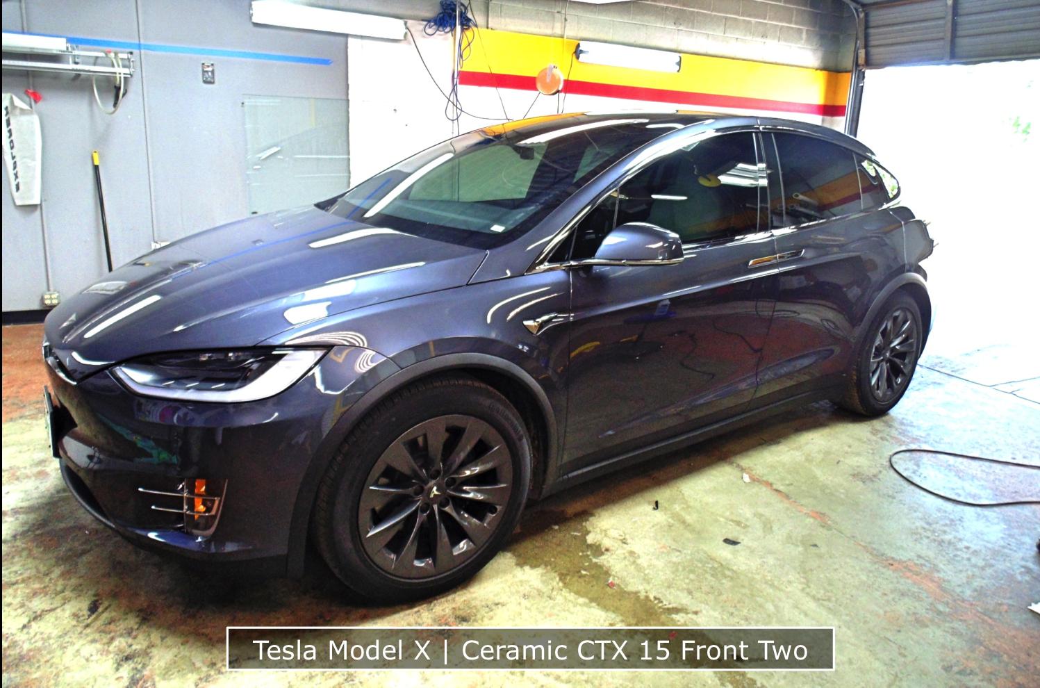 Tesla Model X Tinting