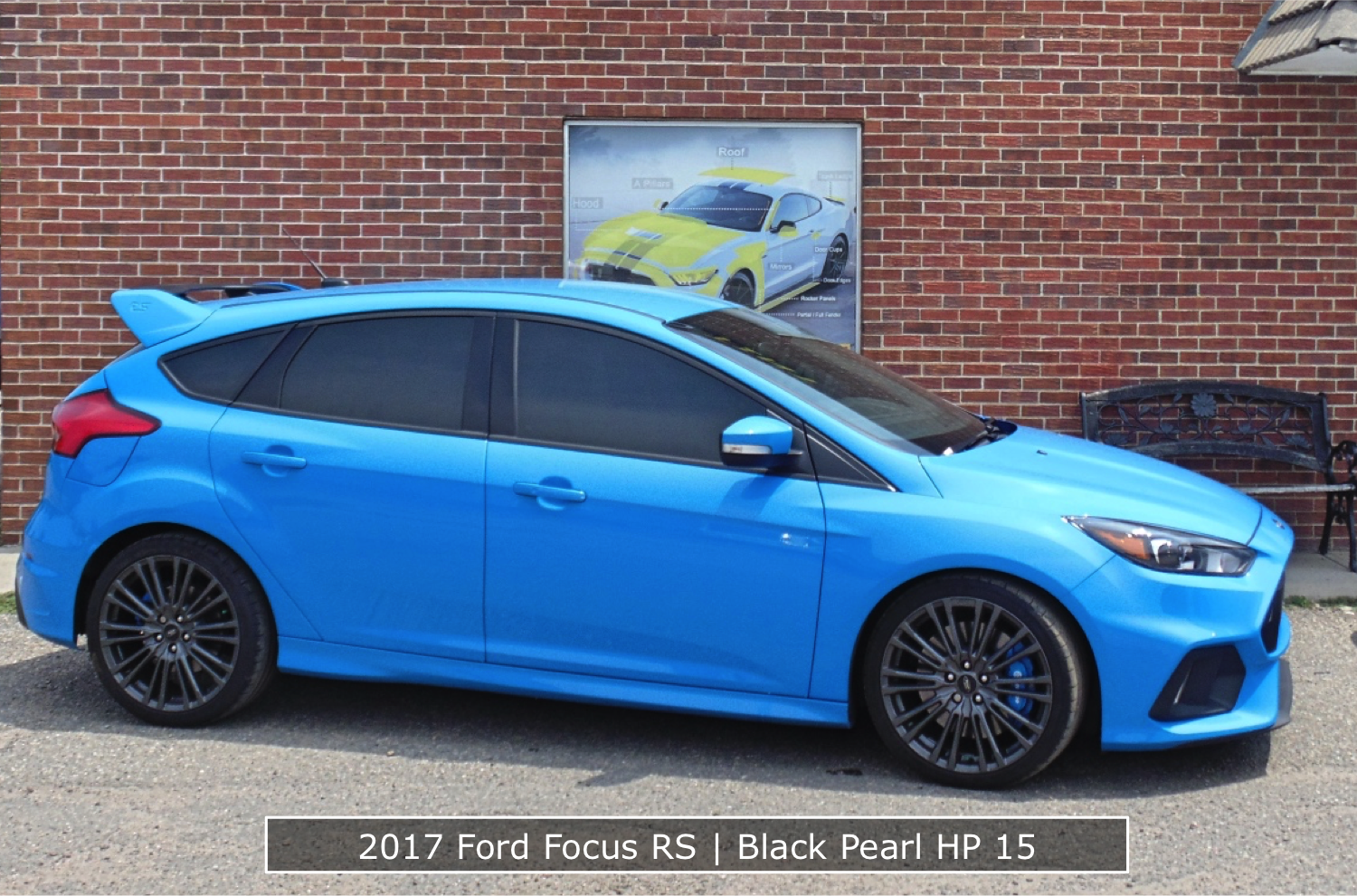 Window Tint Installed On A Ford Focus