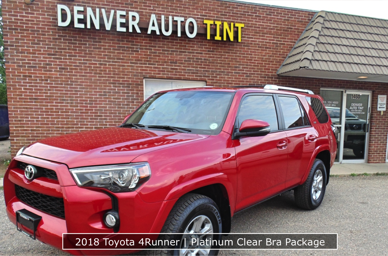 Platinum Clear Bra Package 4Runner