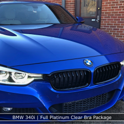 BMW 340i Full Platinum Clear Bra Package Denver