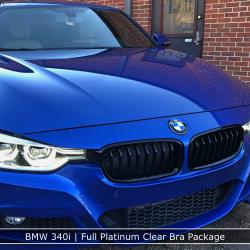 BMW 340i Full Platinum Clear Bra Package Denver